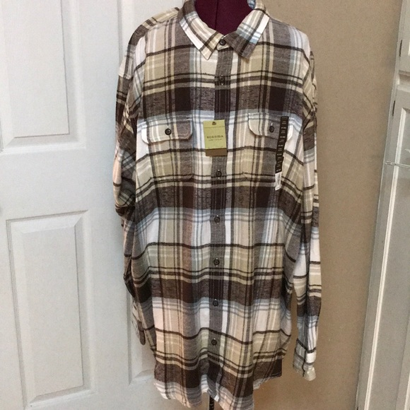 Sonoma Other - Mens Size 4XB Flannel Shirt By Sonoma NWTS